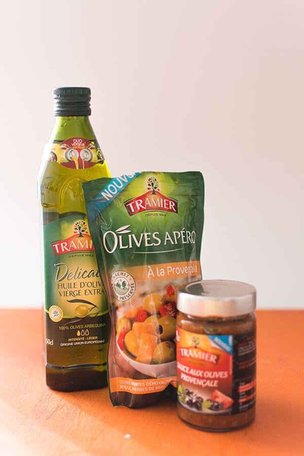 Recette de Spaghettis de courgettes aux olives Tramier, recette facile fraîche et estivale idéale par grosses chaleurs !