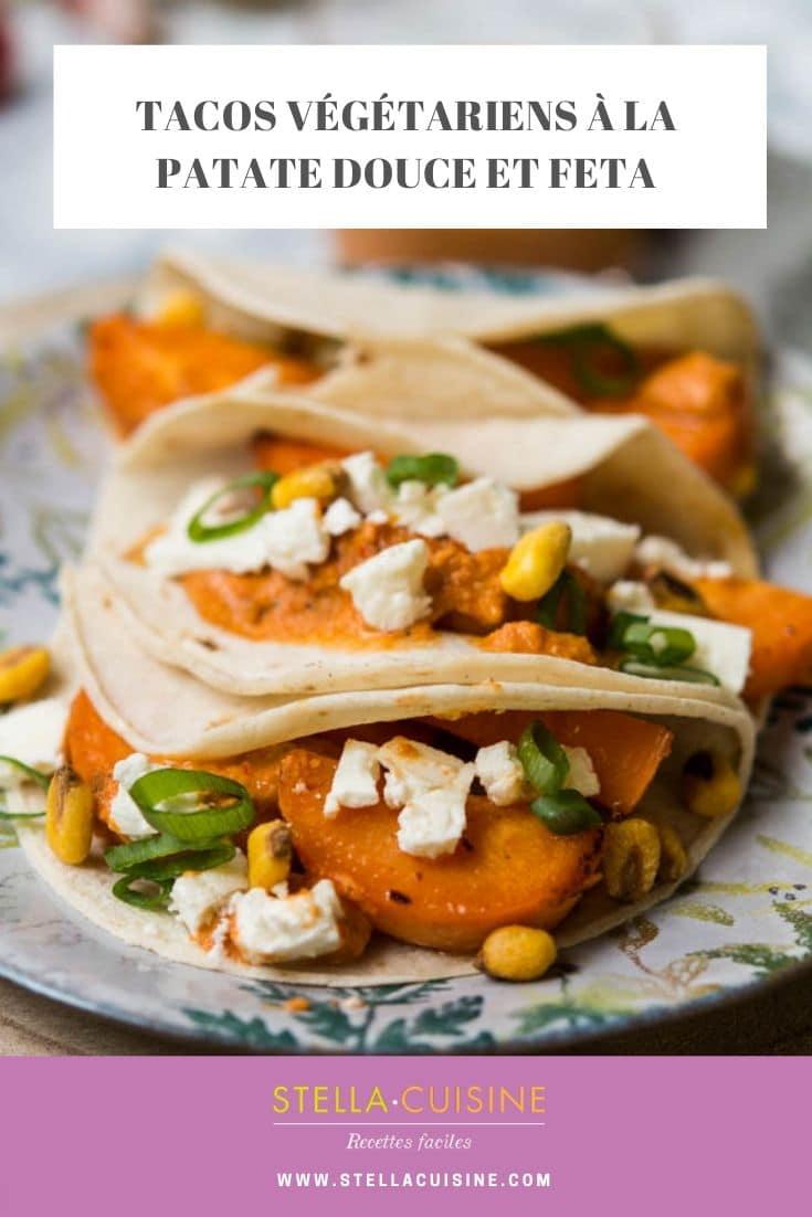 """Recette de tacos végétarien à la patate douce, sauce salsa à l'amande, issue de """"The Chef Show"""" sur Netflix, par le chef Wes Avila du restaurant Guerilla Tacos"""