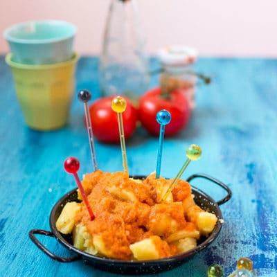 Patatas bravas (recette Cookeo)