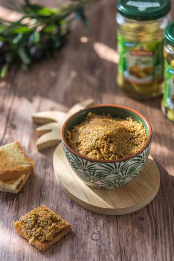 Recette de Tapenade d'olives vertes avec les olives Tramier, idéal pour l'apéritif