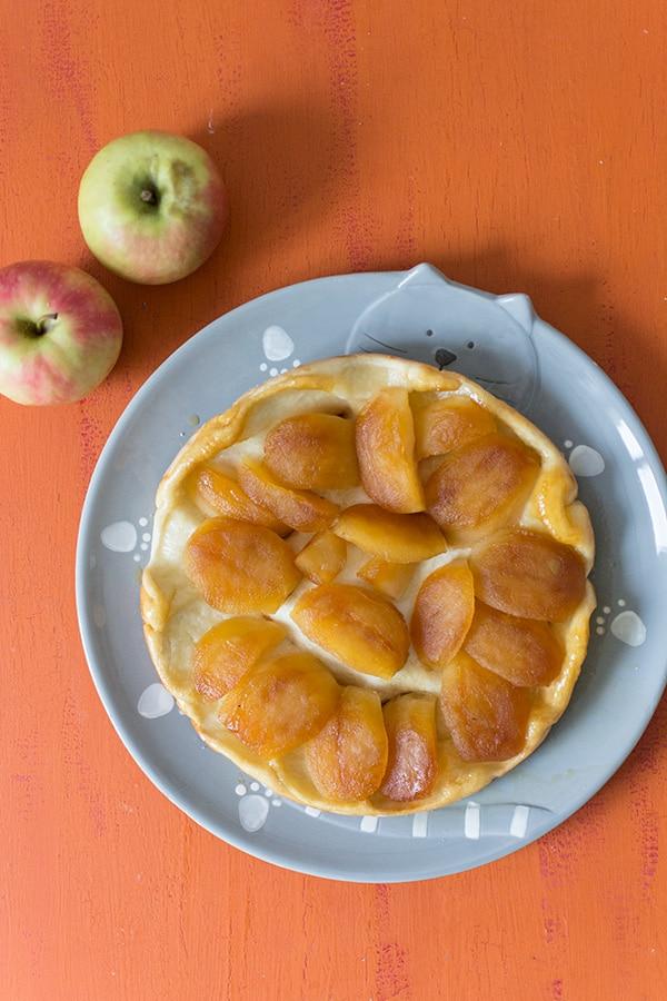 Recette de tarte tatin aux pommes Miss Chef
