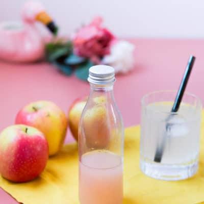 Recette Zéro déchets : sirop d'épluchures de pommes