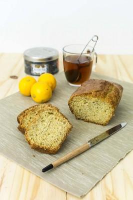Recette de cake au citron bergamote et pavot