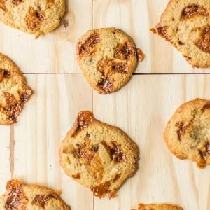 Recette de cookies au caramel