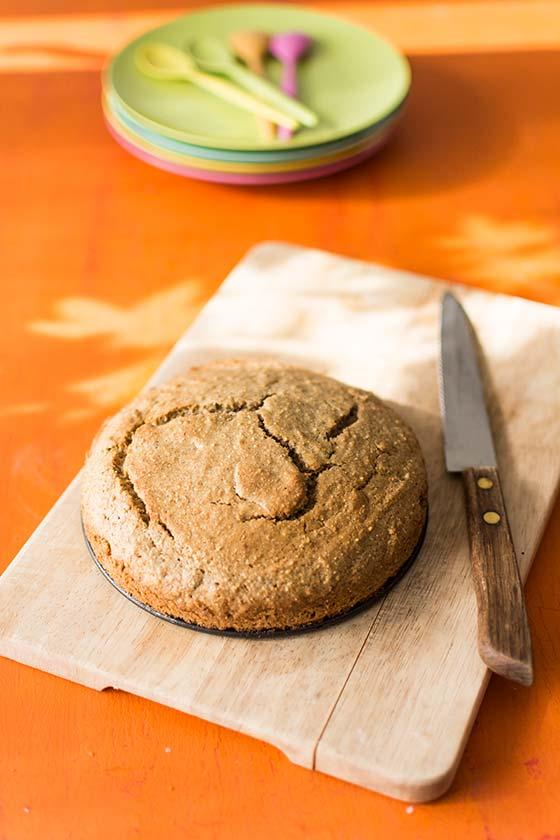 Recette de gâteau corse à la farine de chataignes