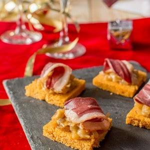 recette_noel_toast_magret_oignons_stellacuisine