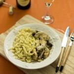 recette_spaetzle_poulet_champignon_stellacuisine