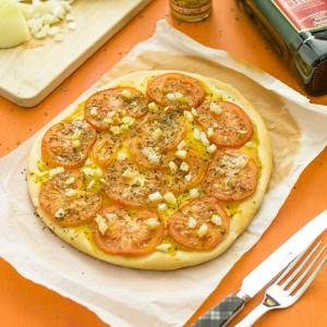Recette de tarte à la tomate et moutarde