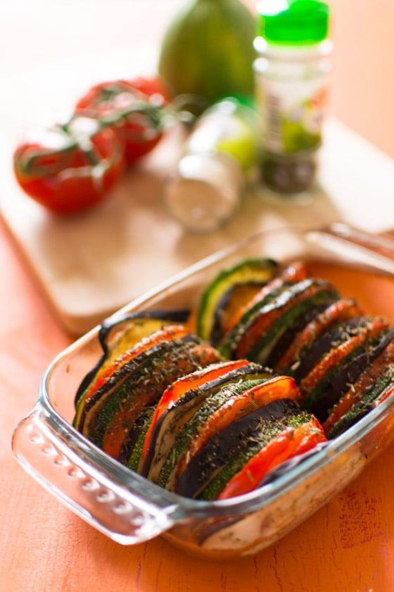 recette de tian proven al aubergines tomates courgettes stella cuisine recettes. Black Bedroom Furniture Sets. Home Design Ideas