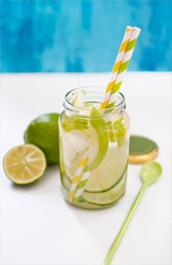 recette de detox water citron vert pomme granny. Black Bedroom Furniture Sets. Home Design Ideas