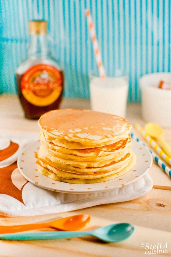 Gateau americain pancake