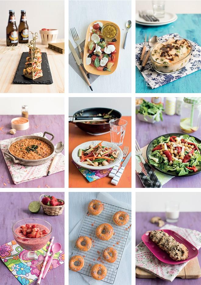 Sortie de mon livre numérique «10 recettes légères et végétariennes»