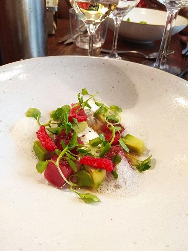 Restaurant L'Escient, Paris 17 quartier Ternes, cuisine bistronomique aux influences asiatiques