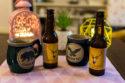 Un joli coffret de bières blondes Volcelest chez Natures et Découvertes